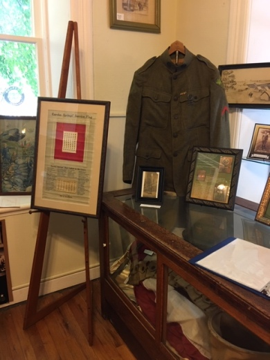 WWI Display at Eureka Springs Historical Museum