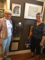 WWI Display with Suzanne Williams & Margaret Scobee
